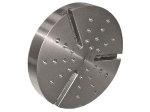 PLATEAU SCHAUBLIN Ø200 mm à 3 rainures T radiales de 11 mm