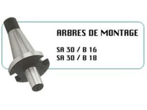 ARBRES DE MONTAGE CINCINNATI TYPE SA30 / B16