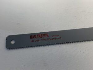 LAME DE SCIE  HAKANSSON TYPE 438x32x2.0 - 6 dents